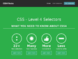 CSS4 Rocks | Learn CSS4, new selectors and features